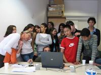 L'atelier livres audio à la médiathèque de Boulogne