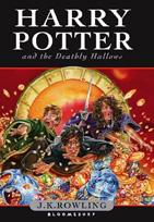 Couverture de la version anglaise de Harry Potter 7.