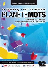 Affiche de Planète Mots 2007