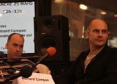 Alexandre Jollien et Bernard Campan au Salon du livre