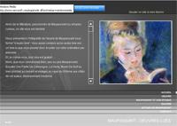 Page d'accueil du site www.maupassant.fr