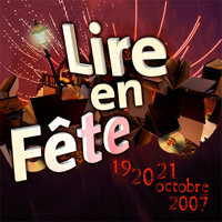 Visuel de Lire en Fête 2007.