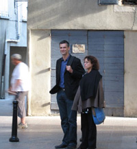 Olivier Chaudenson et Ewelyn Prawidlo.