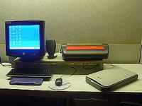 L'espace Louis Braille de la médiathèque