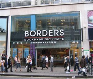 Une des librairies Borders