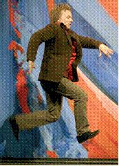 Photographie extraite d'une représentation à la Comédie française