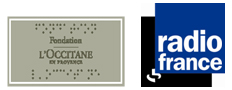 Les logos de la fondation l'Occitane et de Radio France