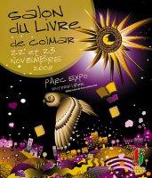 L'affiche du Salon du Livre de Colmar