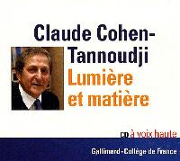 couverture du livre audio de Claude Cohen-Tannoudji