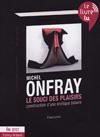"""couverture du """"Souci des plaisirs"""" de Michel Onfray"""