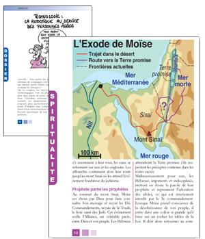 Quelques pages du magazine