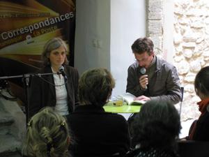 Sophie Massieu et Patrice Pluyette à Manosque