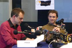 Polo et Franck Monnet au Salon du Livre (2008)