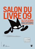Affiche du salon du livre 2009