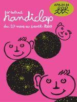 Affiche du festival handiclap de Nantes