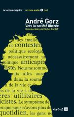 Couverture du livre avec André Gorz