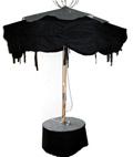 parasol Lire dans le noir ouvert