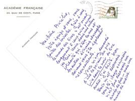 La Lettre de Jean d'Ormesson