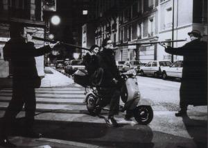 Les souffleurs dans une rue