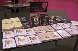 Présentation des collections de livres audio Flammarion et Sonobook au salon du livre 2009