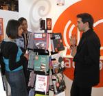 Stand Audiolib au Salon du livre 2009