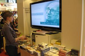 Les livres audio de Gallimard au Salon du livre 2009