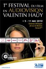 affiche du festival audiovision AVH