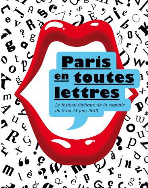 affiche de Paris en toutes lettres édition 2010