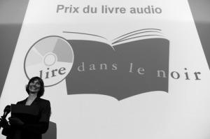 Aurélie Kieffer lors de la remise du prix