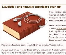 Audiolib et les blogueurs