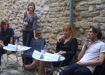 Rencontre avec Barbara Carlotti aux Correspondances de Manosque 2011