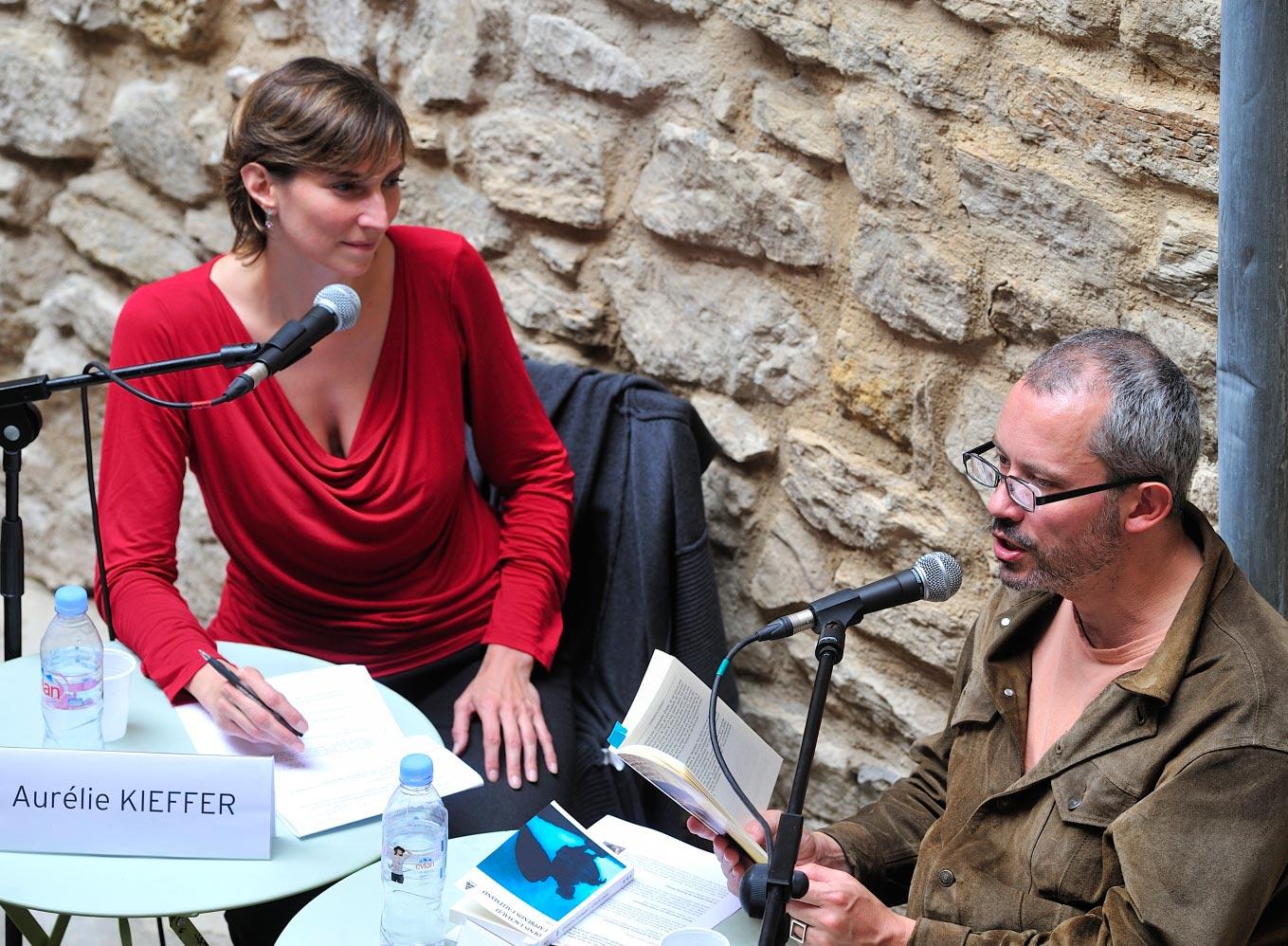 Rencontre avec Denis Lachaud aux Correspondance de Manosque 2011