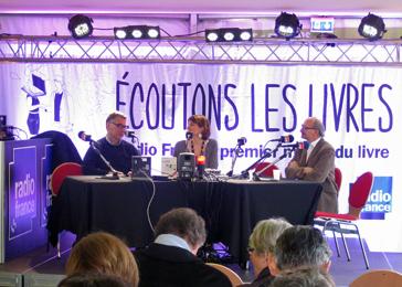 Ronald Wood, Aurélie Kieffer et Eric Fottorino