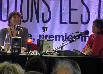 Aurélie Kieffer et Leslie Bedos