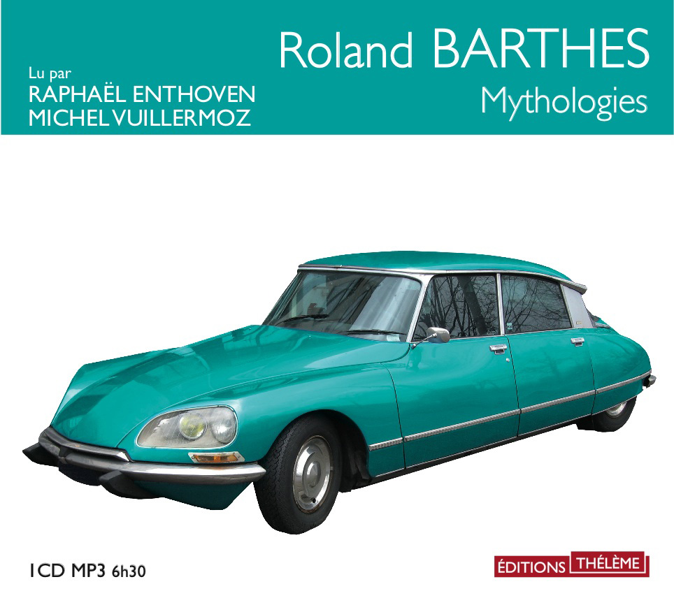 Mythologies de Roland Barthes