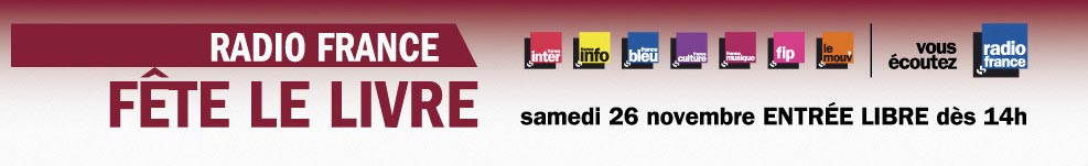 Salon du livre Radio France