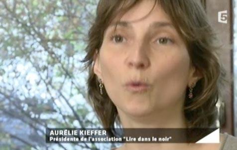 Lire dans le noir dans l'émission Entrée libre sur France 5