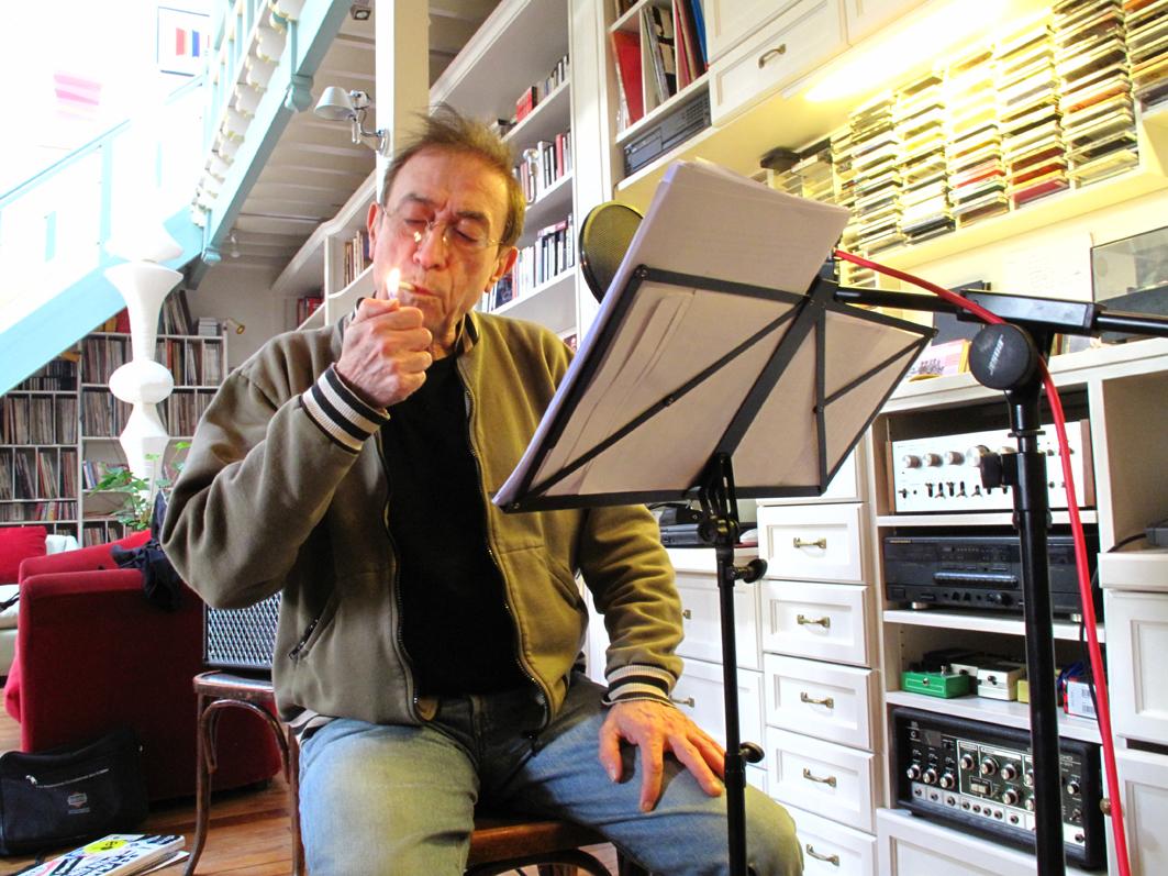 Luis Rego lit Pas Dieu Possible de Sylvain Chantal