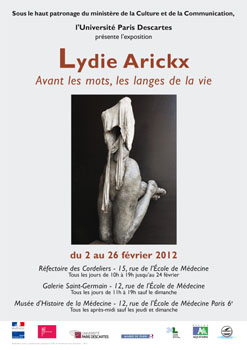 Exposition Lydie Arickx au Réfectoire des cordeliers