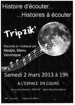 Affiche TripZik