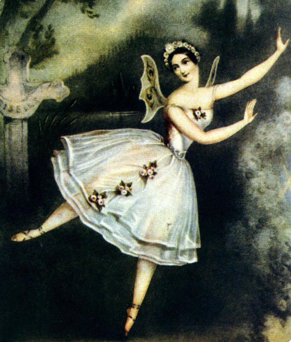 Carlotta Grise en costume de willi