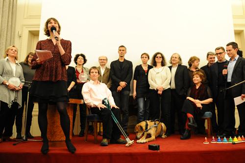 Jurés et lauréats du prix Lire dans le noir 2011