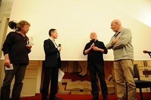 Alain Boulard à la remise des Prix