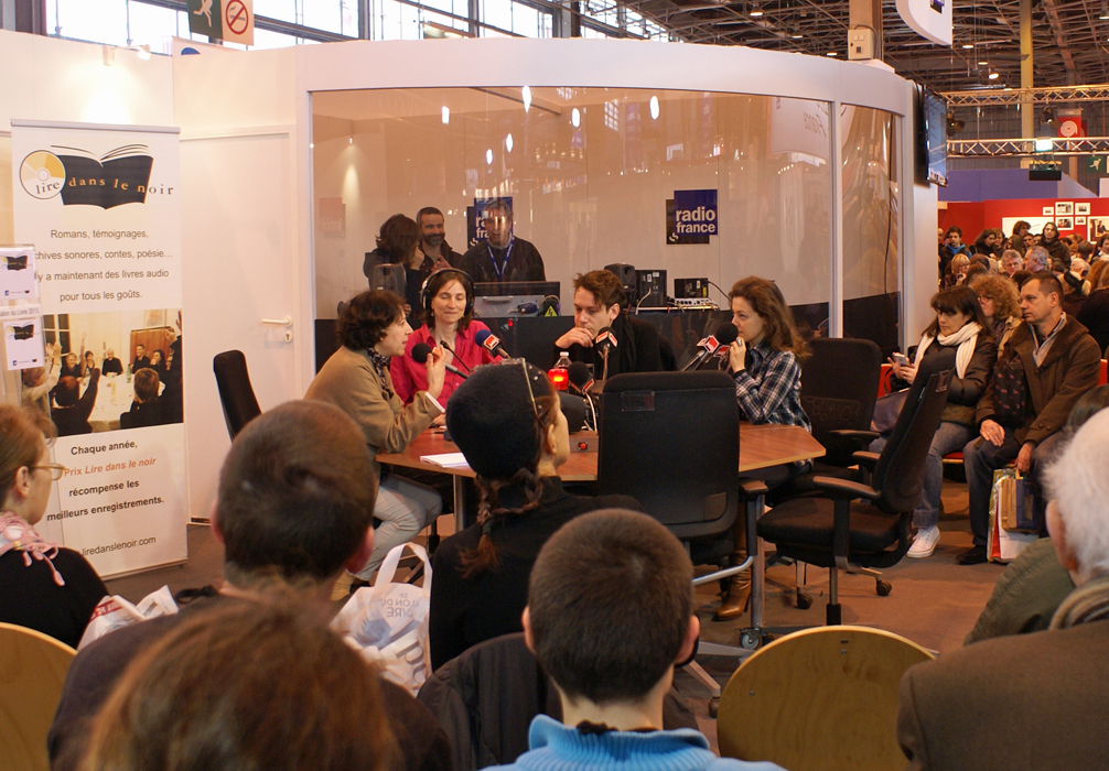 Studio Radio France au Salon du livre