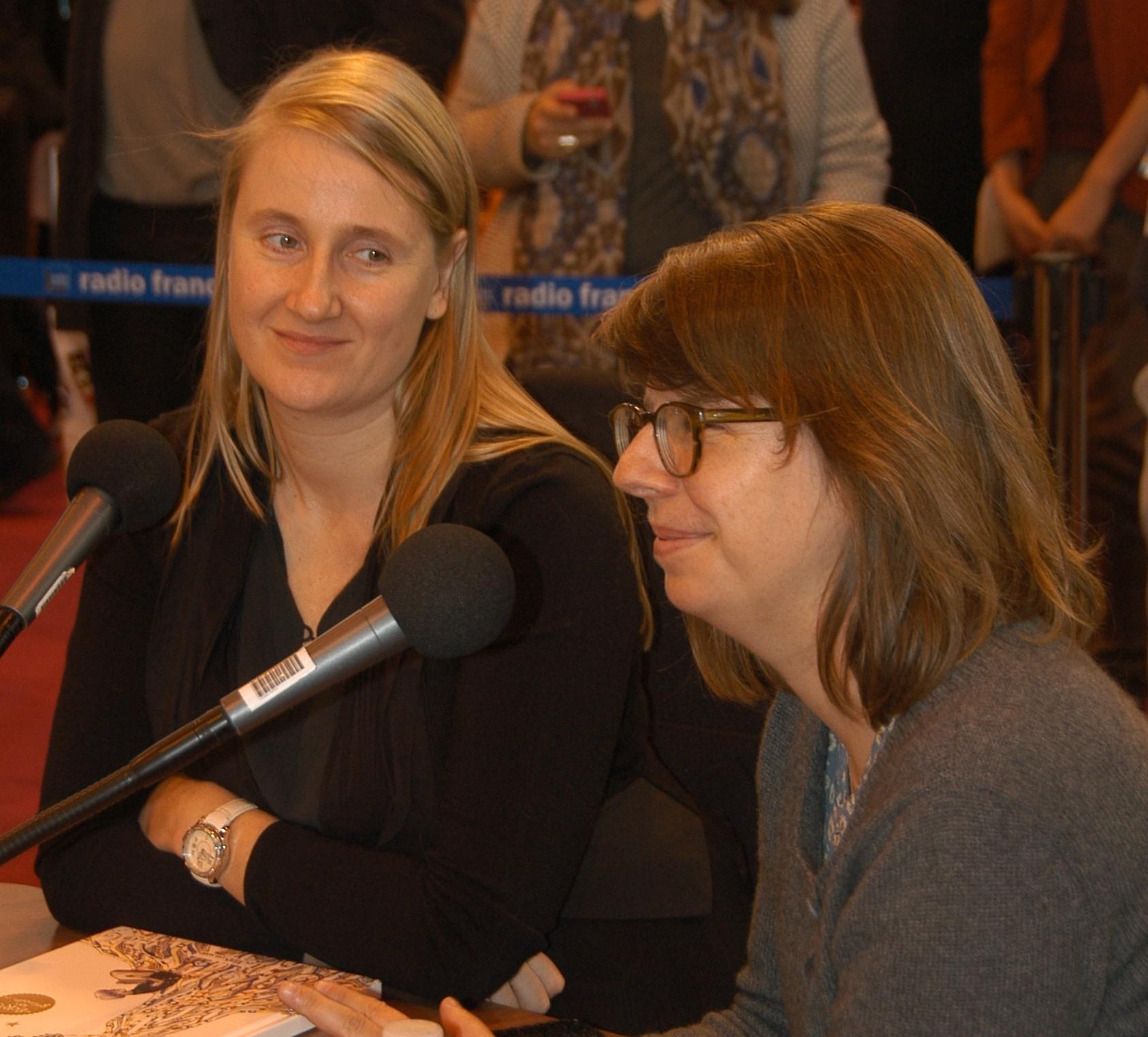 Véronique Haitse et Cécile Palusinski