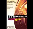 L'affiche des Correspondances de Manosque 2007.
