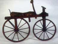 Une pièce de la collection de cycles du musée de Saint-Etienne