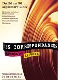 Affiche des Correspondances de Manosque 2007