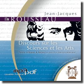 Discours sur les sciences et les arts par Jean-Jacques Rousseau