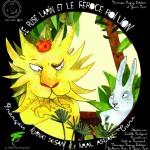 Le rusé lapin et le féroce roi lion